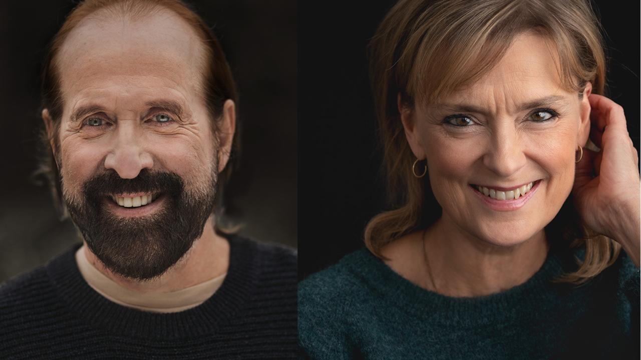 Peter Stormare och Marie Richardson
