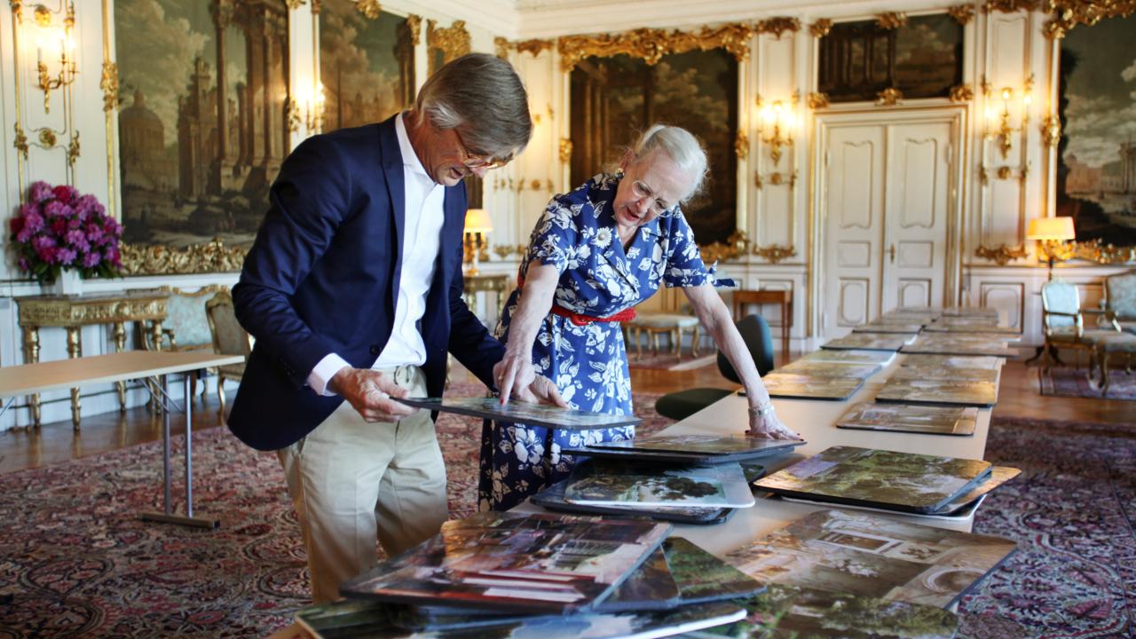 Bille August och Drottning Margrethe II