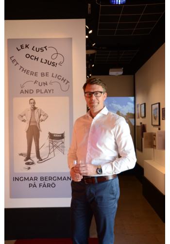 SF Studios CEO Michael Porseryd at the Bergman Center
